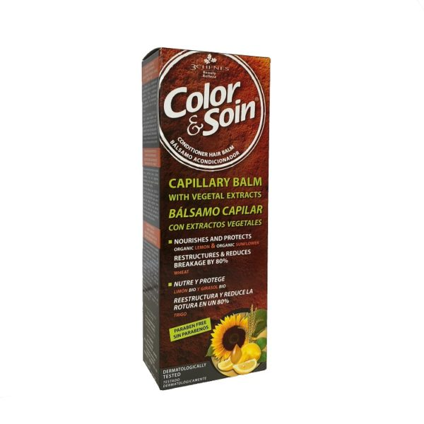 COLOR & SOIN Hair Conditioner Balm Box