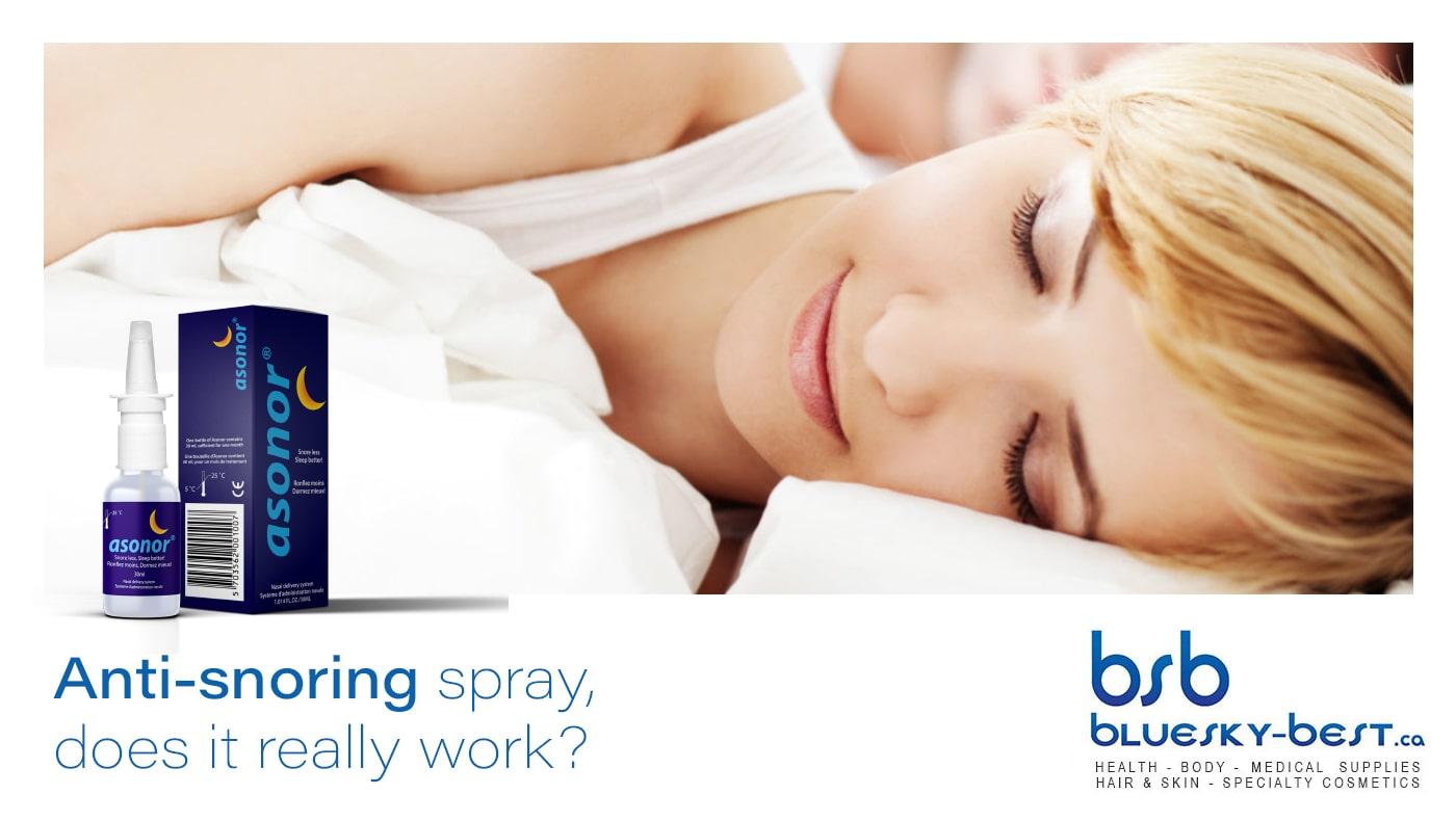 anti-snoring spray