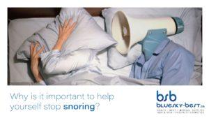help yourself stop snoring